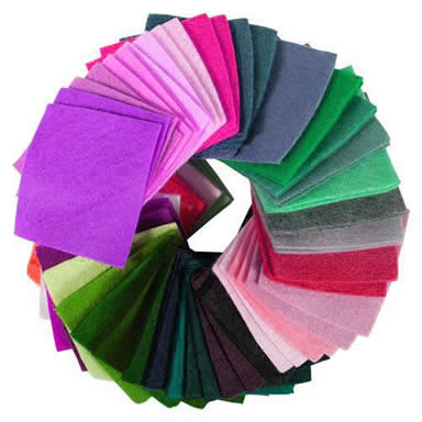 Wool Felt Fabric 100 Wool And Blend Types Of Fabric